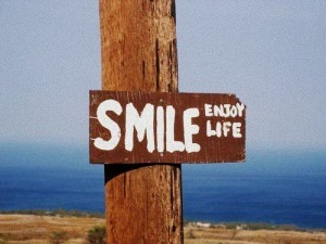 Smile, enjoy life